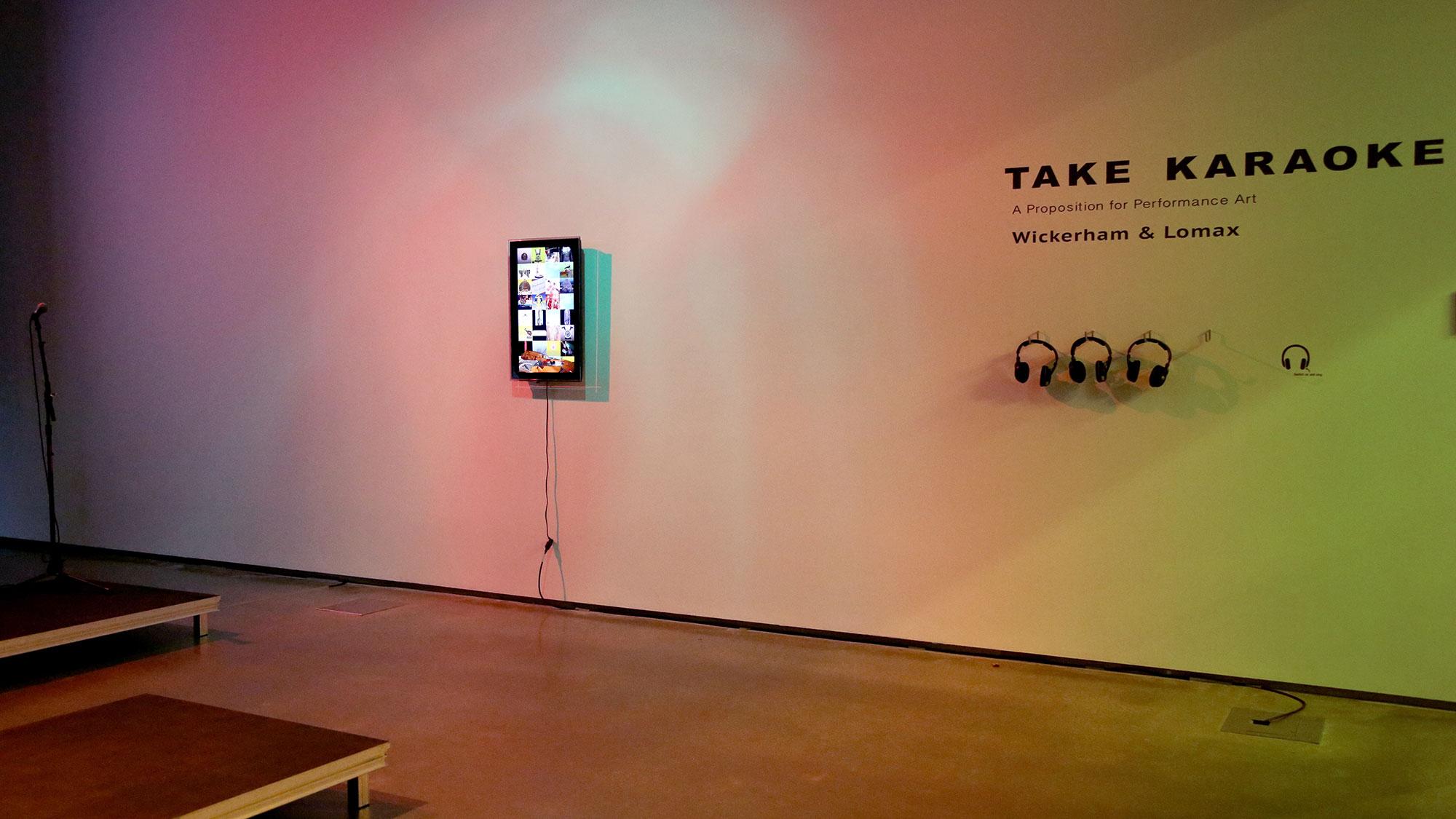 Take Karaoke: A Proposition for Performance Art