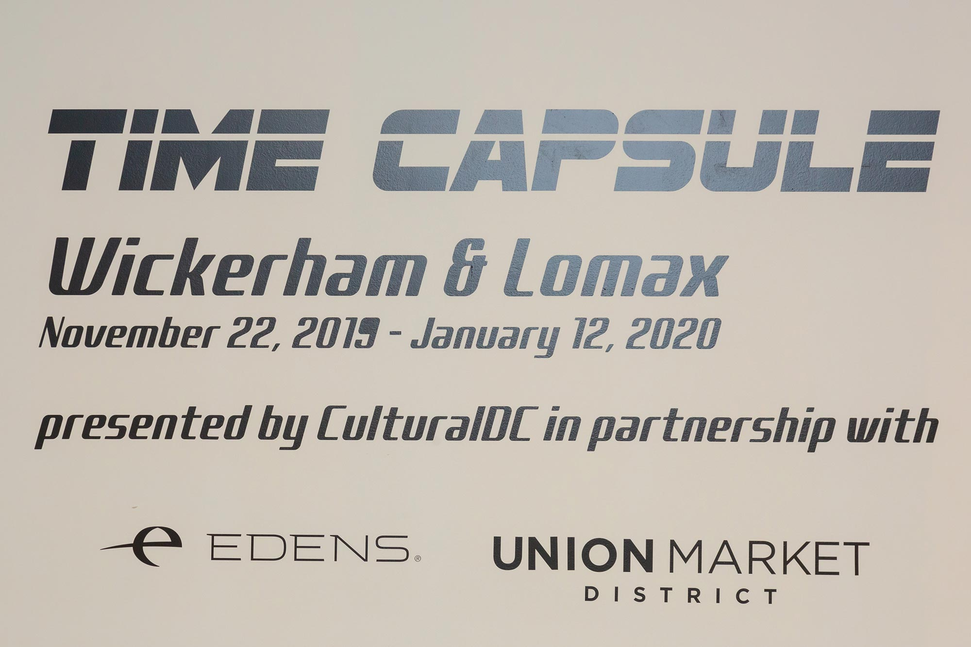 Wickerham & Lomax | Time Capsule
